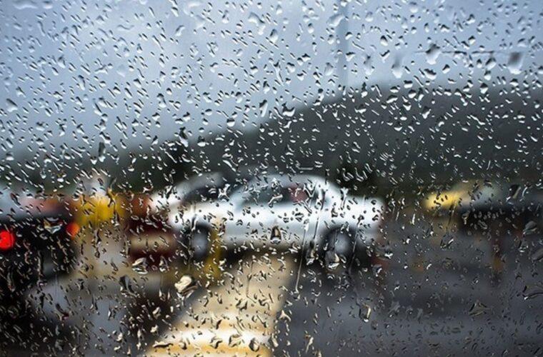 بارش باران در ۷ استان و ترافیک نیمه سنگین در سه محور مواصلاتی