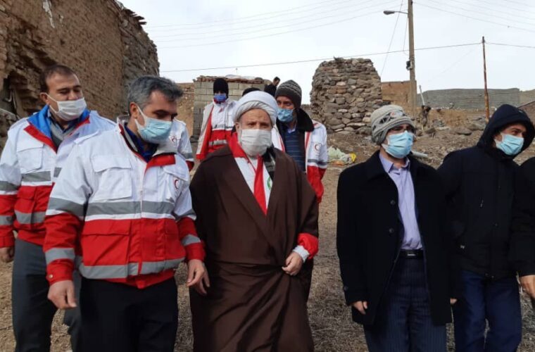 اجرای کاروان سلامت با مشارکت معاونت داوطلبان وجمعیت هلال احمر اسکو در روستای آغچه کهل