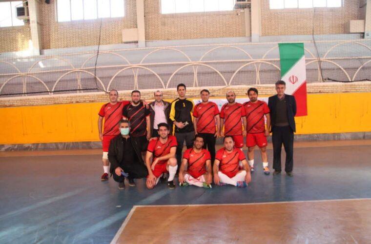 قهرمانی تیم فوتسال حراست هلال احمر آذربایجان شرقی در مسابقات جام دهه فجر
