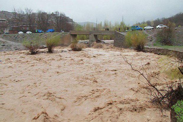 احتمال وقوع سیل در مناطق مختلف آذربایجان شرقی