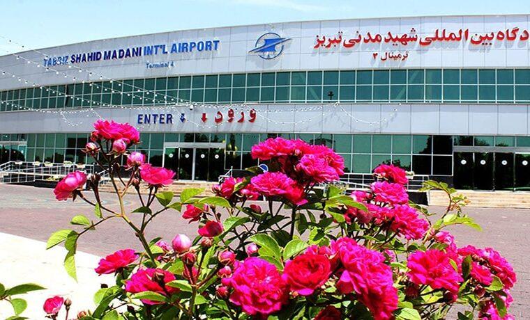 کنترل سلامت مسافران فرودگاه شهید مدنی تبریز