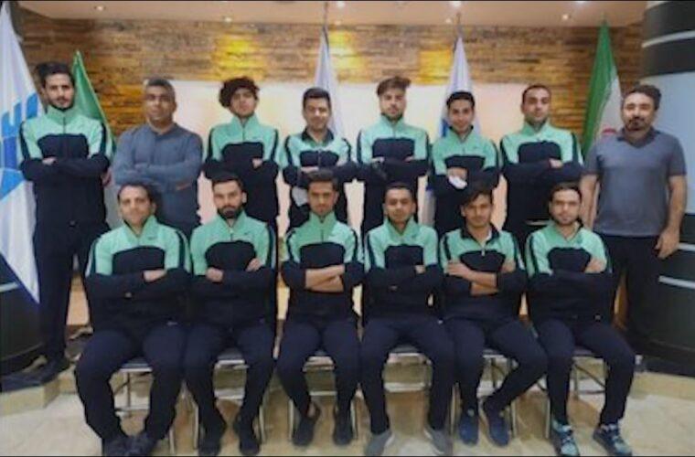تیم استان، مقام سوم مشترک لیگ برتر هاکی داخل سالن مردان کشور