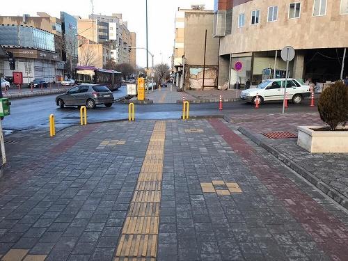 ۶ هزار متر مربع کف سازی معابر برای اجرای پروژه های انسان محور در منطقه ۱