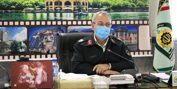 متلاشی شدن ۳۰۵ باند سرقت در آذربایجانشرقی