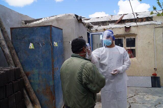 روستای رواسجان اهر قرنطیه شد