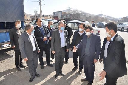دیدارمردمی مدير منطقه ۸ عمليات انتقال گاز از محدوده اراضي شادآباد