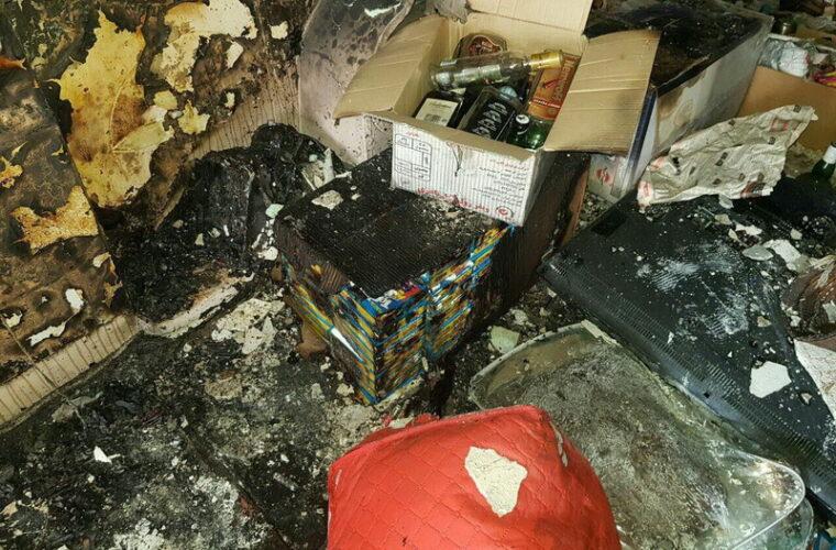 تخریب منزل مسکونی به علت انفجار مواد محترقه در تبریز