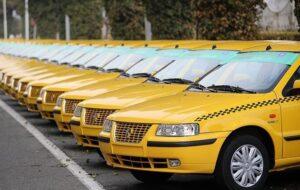 ابلاغ نرخ کرایه تاکسی در سال ۱۴۰۰ به رانندگان تاکسی های درون شهری
