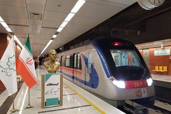 قطار شهری تبریز با رعایت دستورالعملهای بهداشتی خدماترسانی میکند