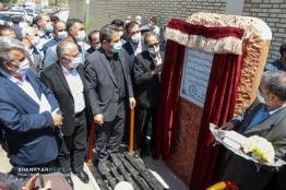خیابان شهید میلانی به بهره برداری رسید