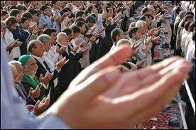 برگزاری نماز عید فطر در فضای باز محوطه مصلای حضرت امام خمینی (ره) تبریز
