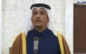وزیر خارجه قطر: از گفتوگوی ایران و کشورهای منطقه استقبال میکنیم