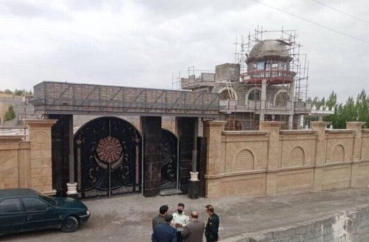 ویلای مجلل ۲۵ میلیارد تومانی در تبریز تخریب شد