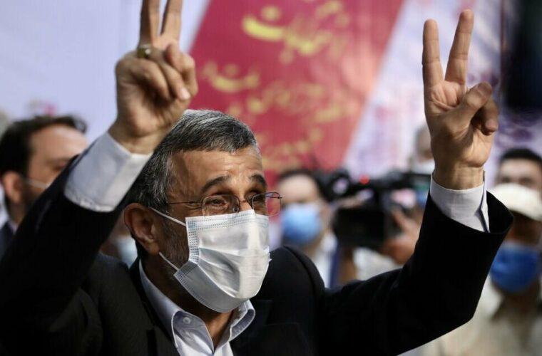 محمود احمدی نژاد در انتخابات ریاست جمهوری ثبت نام کرد