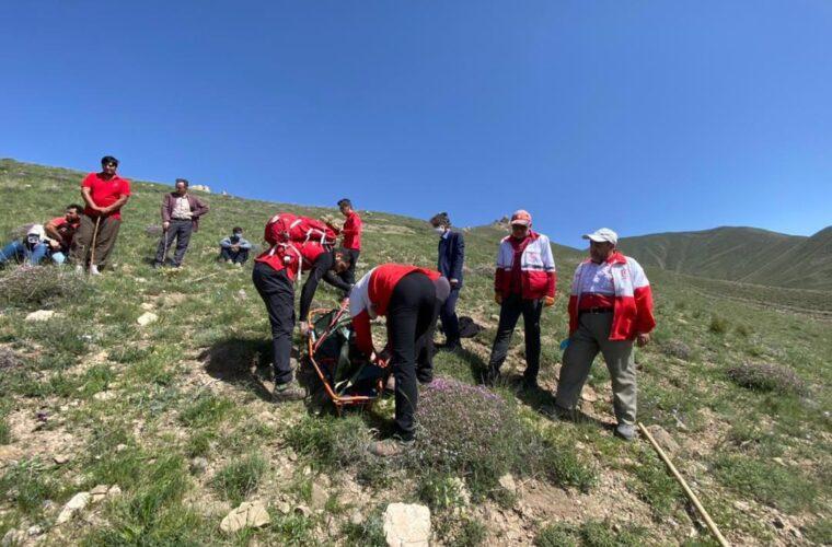 جسد فرد گمشده در ارتفاعات اسپیران، تبریز پیدا شد