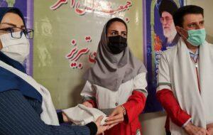 قرار مهربانی سفیران اهدای عضو ایرانیان تبریز در جمیعت هلال احمر شهرستان تبریز