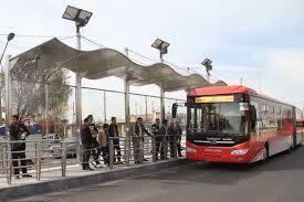شروع به کار فعالیت اتوبوس های مسیر BRT از امروز