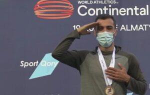 دونده تبریزی مدال طلای مسابقات بینالمللی قزاقستان را کسب کرد