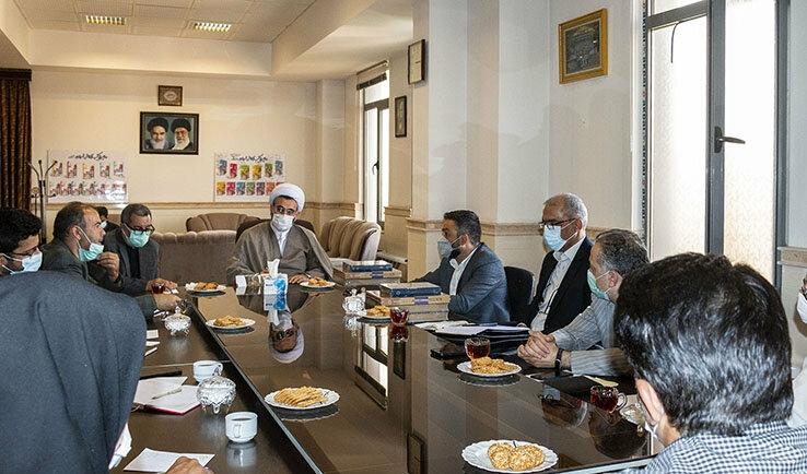 جلسه کارشناسی تهیه پروپوزال انتخاب تبریز به عنوان شهر خلاق ادبیات در جهان