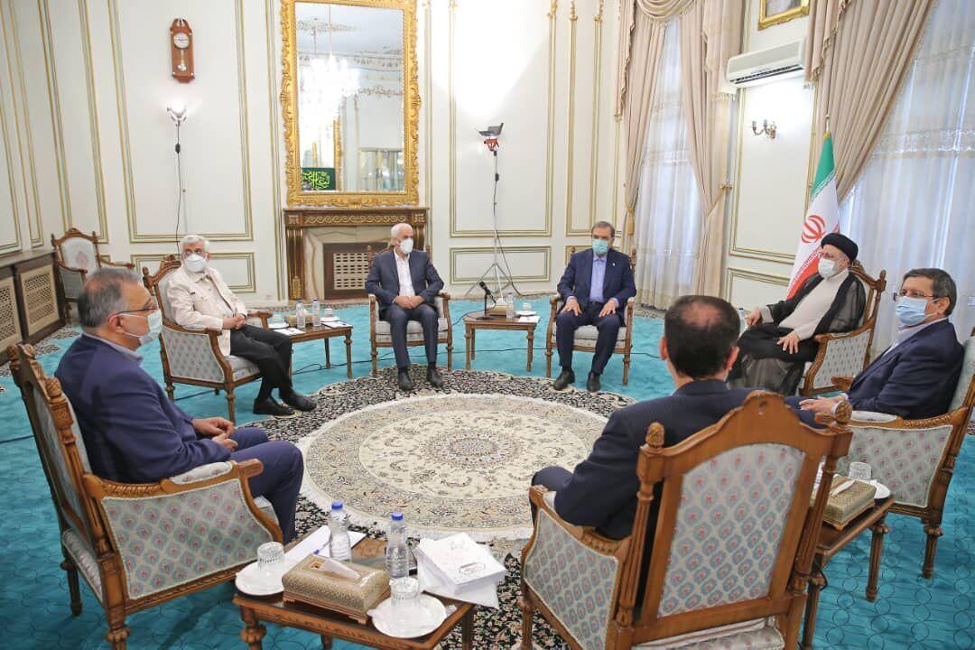 نامزدهای انتخابات ریاست جمهوری با رییسی دیدار کردند