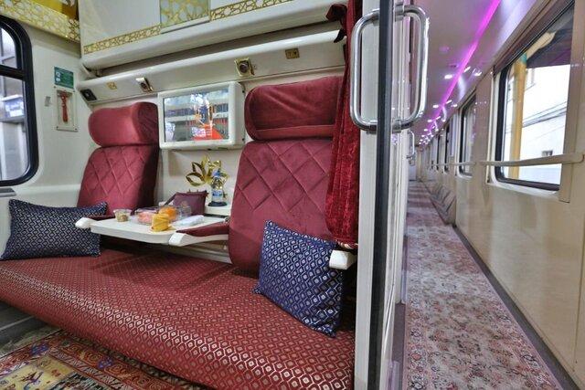 راه اندازی قطار چهارم تبریز- تهران وبالعکس از امروز