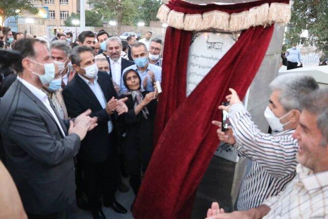 پیاده راه امین و بازارچه صنایع دستی درب استانبول در تبریز افتتاح شد