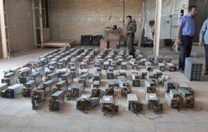 کشف ۵۳۴ دستگاه ماینر در تبریز