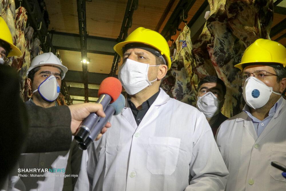 افزایش ۳ برابری تولیدات کشتارگاه صنعتی تبریز