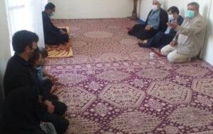حضور رئیس شورای اسلامی شهر و سرپرست شهرداری تبریز در منزل پاکبان تازه درگذشته