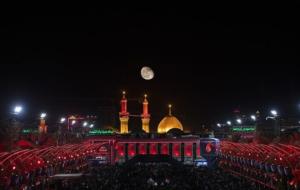 فریاد «یاحسیناه» ایرانیان در کربلا همزمان با شب اربعین