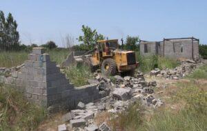 یک هزار مترمربع از اراضی ملی جلفا آزادسازی شد